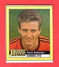 Dundee United Kevin Gallacher Scotland (M 89-90)